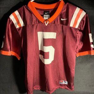 Virginia Tech #5 Tyrod Taylor Jersey